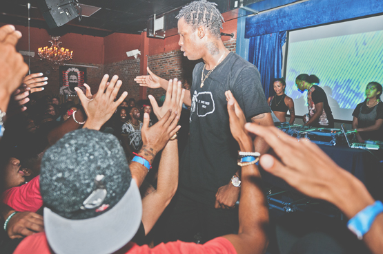 Travis Scott Miami blog 4 Travi$ Scott At The Stage In Miami, Florida Photographed by D. TUCKER