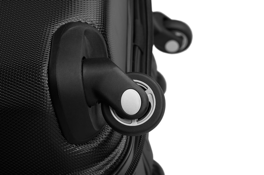 spinner wheels on samsonite golf bag